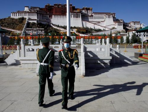 Tibetan political leader visits White House for first time in six decades