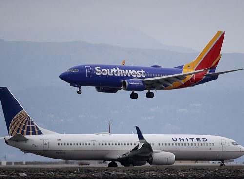 Calif. travel ban, UA to Shanghai, new UK rules, middle seat update + more