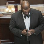 Outgoing Sen. Jeff Hayden, DFL-Minneapolis, shown during a Senate session in June, announced on Twitter that he would be joining Fredrikson & Byron's government relations team. (File photo: Kevin Featherly)