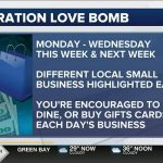 Operation Love Bomb encourages people to support small business