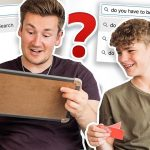BROTHERS PLAY 'WEIRD THINGS PEOPLE SEARCH ON THE INTERNET'