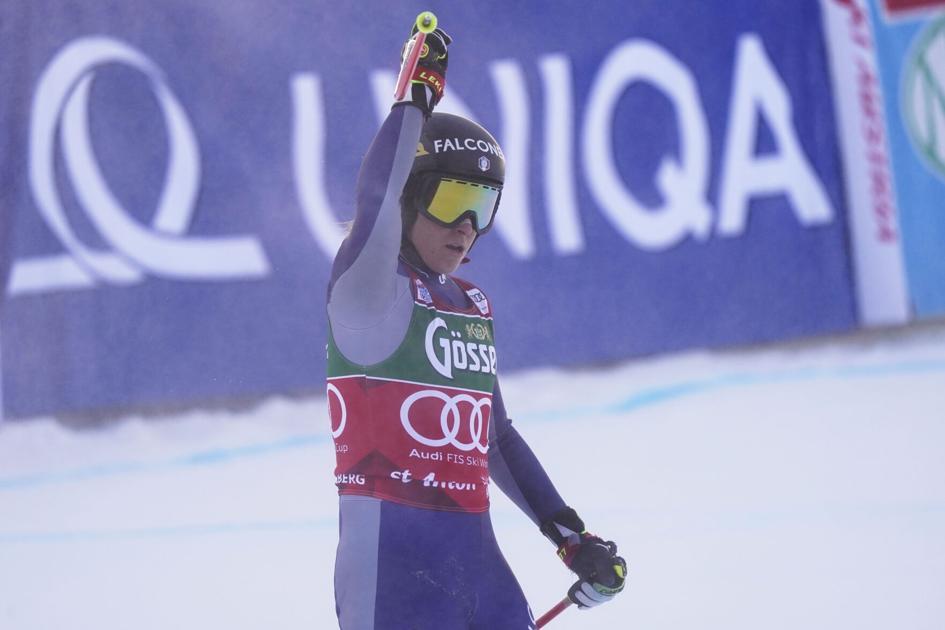 Sofia Goggia races to dominating win in World Cup downhill   Sports