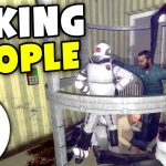 Taking People To Our Basement - Gmod DarkRP Life (We Grab As Many As We Can Put Them In Cages)