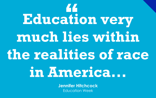 'The White Voice, Experience, and Interest Dominate Education' (Opinion)