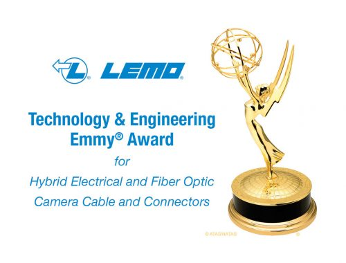 LEMO® Receives 2020 Technology and Engineering Emmy® Award