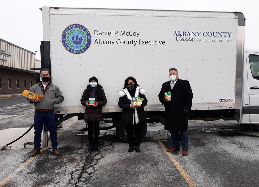 Snapshot: Dr. Martin Luther King Food Drive in Capital Region | Local News